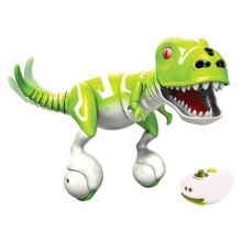 The Zoomer Dino Robot. I wonder what the final clearance price will be?