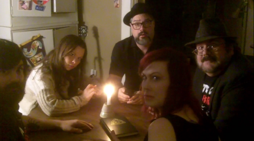 Mic, Penny, Mark, Kitty and Rudy plot to kae over the world