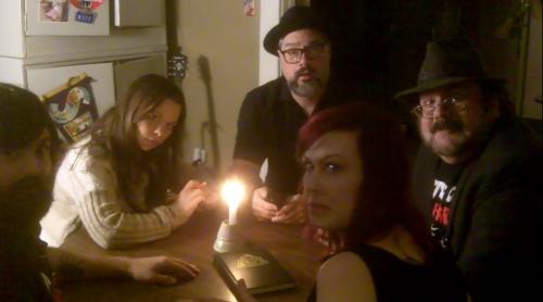 Mic, Penny, Mark, Kitty and Rudy plot to kae over the world