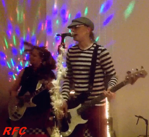 Babie and Ricky of Radio Cult, recorded at a Marriott in Atlanta