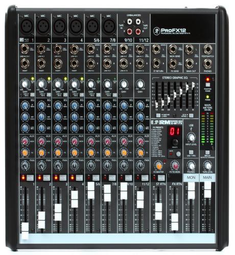 The Mackie ProFX 12 Mixer