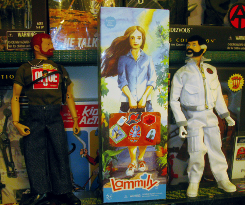 Lammily arrives in the PopCult office