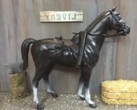"""Sam Cobra's horse, """"Satan"""" photo courtesy of Stevo's Toys"""